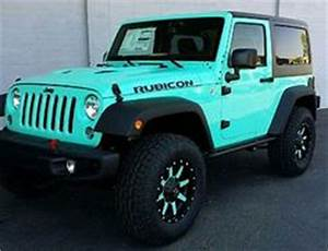 Tiffany Blue 2 Door Jeep Rubicon - Fuel Offroad Wheels ...
