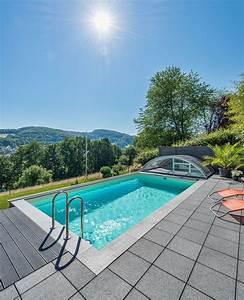 Pool Für Den Garten : pool in kleinem garten pool f r kleinen garten hinterhof pool garten pool selber bauen ~ Watch28wear.com Haus und Dekorationen