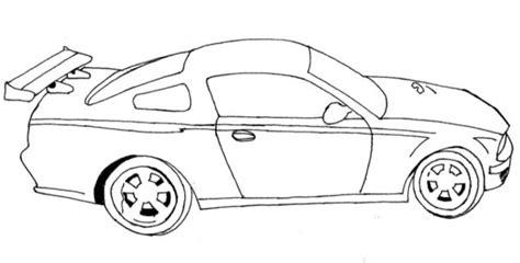 dibujos de autos  colorear colorear imagenes