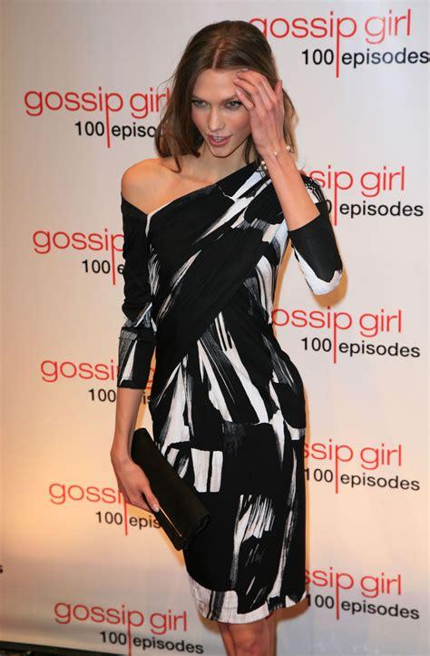 Karlie Kloss Gossip Girl Episode Celebration
