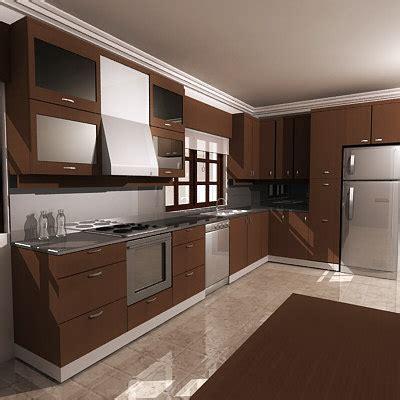 kitchen design 3d model 3d model kitchen 4381