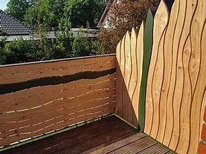 Sichtschutz Für Den Balkon : sichtschutz f r den balkon mit nat rlichen formen gem tlichkeit schaffen sichtschutz ideen ~ Watch28wear.com Haus und Dekorationen
