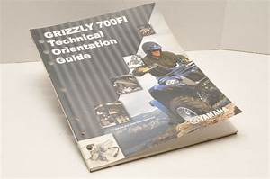 Genuine Yamaha Technical Orientation Guide Grizzly 700fi