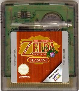 The Legend Of Zelda Oracle Of Seasons 2001 Game Boy