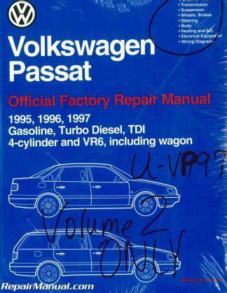 volume   volkswagen passat  repair manual