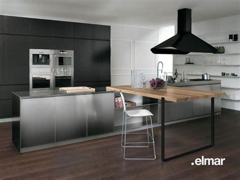 cuisine inox la cuisine bois et inox d 39 elmar inspiration cuisine