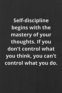 Inspirational Quotes On Self Discipline | Business Quotes ...