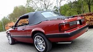 1991 Ford Mustang LX 5.0 Convertible - YouTube
