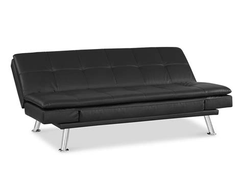 Serta Convertible Sofa Traditional Couch Futon Augustine