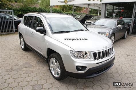 2011 Jeep Compass Limited 4x2 Leather Sunroof 2 0i Car