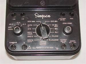 Simpson 260 Series 7m    Volt - Ohm