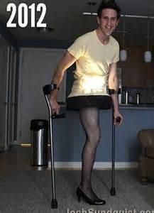 Josh Sundquist e legged Paralympian turns disability on