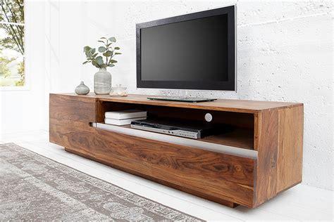 Tv Board Mit Rückwand by Massives Tv Board Earth Ii 160cm Sheesham Holz