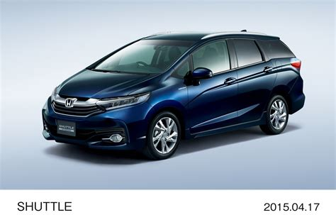 2015 Honda Shuttle Revealed In Japan The Fit's Wagon Brother Autoevolution