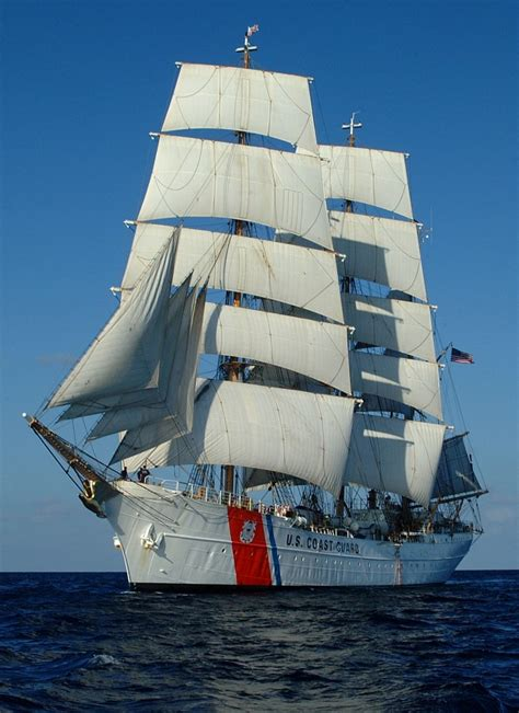 maritimequest horst wessel  uscg eagle wix  page