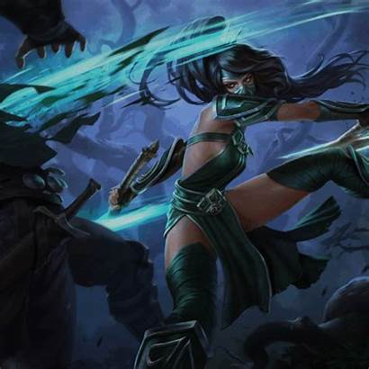 Akali Shadow Fist Legends League References Champions