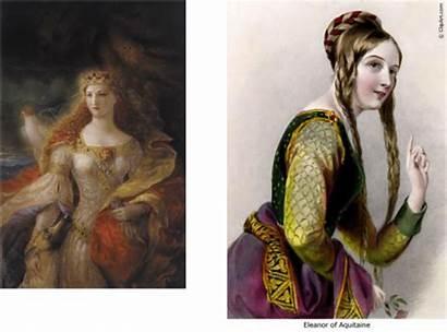 Noblewomen Aquitaine Eleanor Role Middle