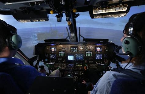 Sikorsky S76 Simulator - Frasca Flight Simulation