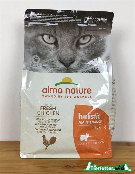 almo nature holistic trockenfutter im test