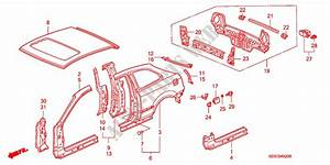 2000 Honda Civic Body Parts Diagram