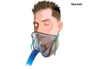Face Tent Oxygen Delivery Device