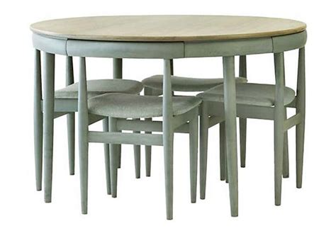 hideaway dining table and chairs dining table with hideaway chairs