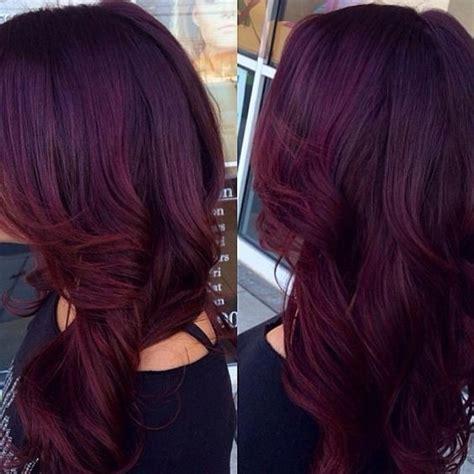 10 mahogany hair color ideas ombre balayage hairstyles 2019