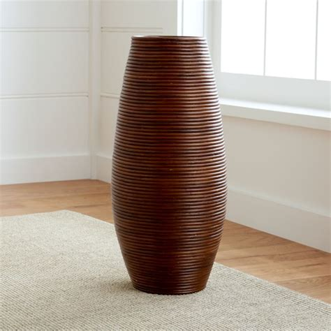 Floor Vases by Galang Floor Vase Umbrella Stand Reviews Crate And Barrel