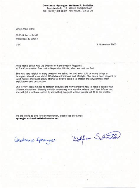 Sample Recommendation Letter For Mental Health Counselor Armed