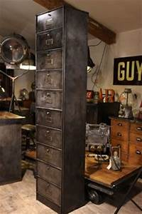beautiful metaux and vintage on pinterest With superior banc entree meuble chaussure 12 meuble dentree bois metal banc vestaire de style