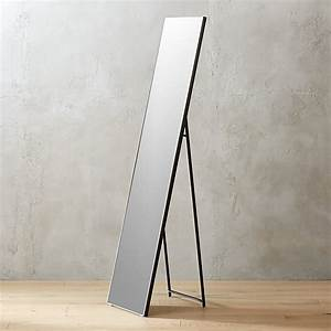Gift Card Dimensions Infinity Black Standing Mirror 16 Quot X69 Quot Reviews Cb2