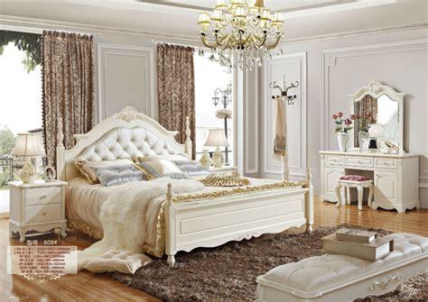 5 # Luxe Français Néoclassique Meubles De Chambre Blanche