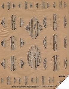 1920s vintage embroidery progress book of transfer With embroidery letter transfers