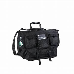 Black Military Army Police Special Ops Laptop Shoulder ...