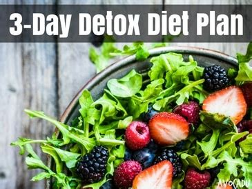 3 tage detox diät 3 day detox diet plan that s simple and effective avocadu