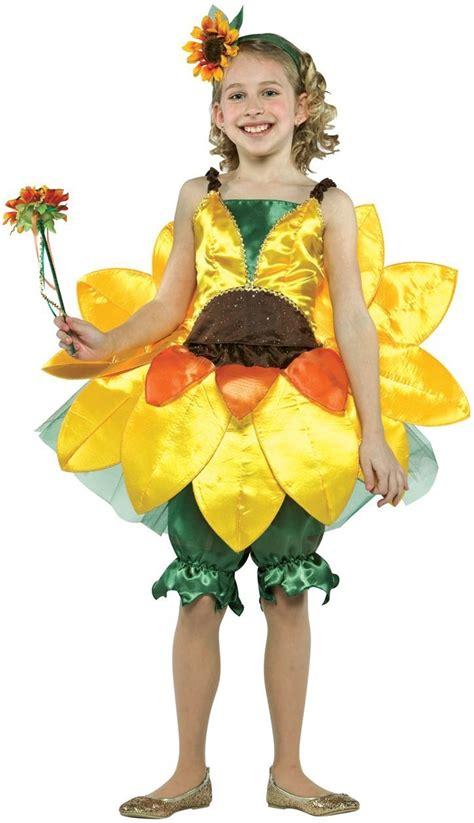 Girls Botanicals Sunflower Costume