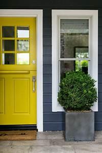 ciao! newport beach: 3 sunny yellow dutch doors