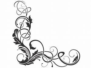Jugendstil Florale Ornamente : wandtattoo florales eckornament wandtattoo raumecke ~ Orissabook.com Haus und Dekorationen