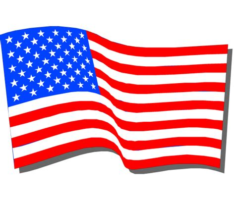 American Clipart Flag Clipart Transparent Pencil And In Color Flag