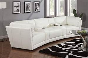 Leather sectional sofas for small spaces tedx decors for Curved sectional sofa for small space