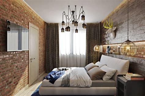 big metal wall bold industrial meets rustic bedroom decor digsdigs
