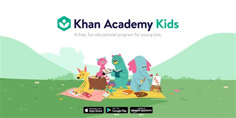 khan academy launches today simple 313 | KhanKids LogoBanner Landscape