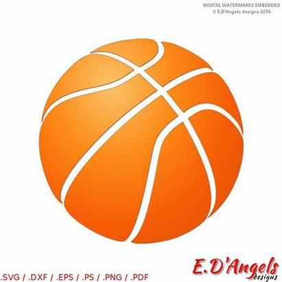 Basketball Svg Cricut Clipart Cut Silhouette Sports