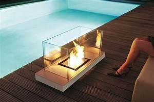 Design feuerstelle fur aussen mit ethanol for Feuerstelle garten mit eckschrank für balkon
