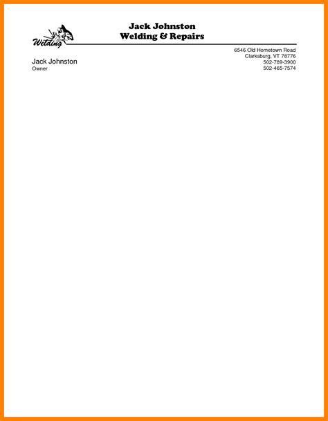 Letterhead Template Word Microsoft Word Letterhead Template Free