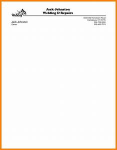 letterhead samples word business itinerary template with With word letterhead template with logo