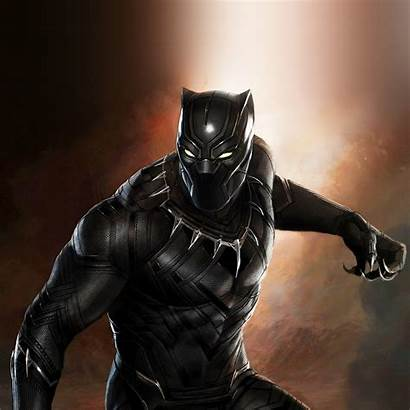 Panther Marvel Hero Wallpapers Ipad Illustration Blackpanther