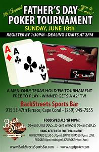 Father's Day Texas Hold'Em Tournament