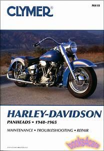 Harley Davidson Panhead Shop Manual Service Repair Book
