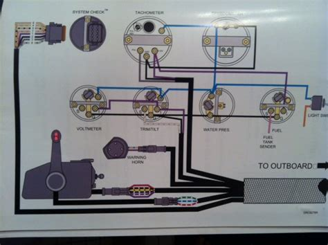 i a 2008 90hp etec and need schematic for gauges kev